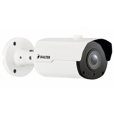 BALTER 5.0MP IP видеокамера, 2.8-12мм motorzoom, 2592x1944p, ИК 45м, H.265, WDR, VCA, P2P, PoE/12V DC, IP66