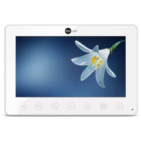 """7"""" видеодомофон c сенсорными кнопками, встроенная память, запись видео по движению со звуком, ультратонкий"""