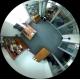 BALTER 5.0MP панорамная IP видеокамера, 180°/360°, ИК 15м, Micro SD, Audio, H.265, WDR, VCA, P2P, PoE/12V DC, IP66